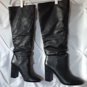 Steve madden NWOT slouchy leather boot.